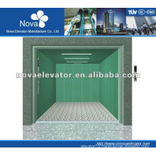 Cargo elevator with large load