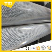 Aluminio de láminas reflectantes metalizadas prismáticas