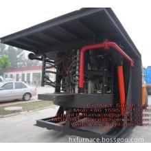 Aluminum Induction Furnace 1ton