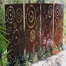 Garden Metal Screen Fence
