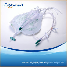 2014 Hot-sale Good Quality CE, ISO Approved 2600ml+500ml Urine Bag