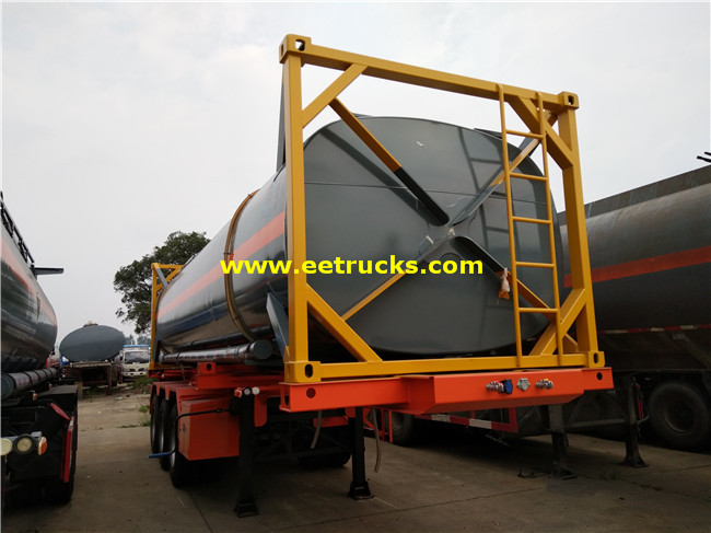 28 CBM Sulfuric Acid Tank Containers