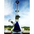 18inch Altura Desmontable Copa de vidrio Doble de vidrio interior Tubo de agua Recto Plataformas Pet Tubo de agua para fumar