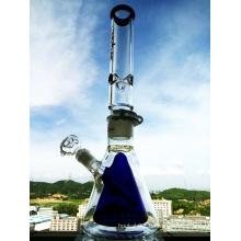 18inch Höhe abnehmbare Glasbecher Doppelte innere Glas Wasserpfeife Gerade Öl Rigs Rauchen Wasser Rohr