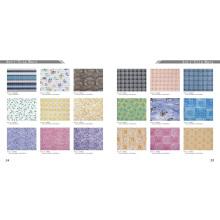 Rodillos de alfombra antideslizante de espuma de PVC impreso