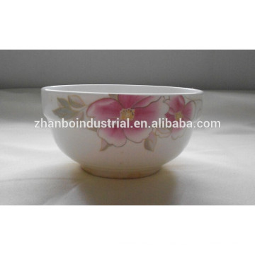 """Wholesale Food Safety 4.5"""" Porcelain Bowl"""