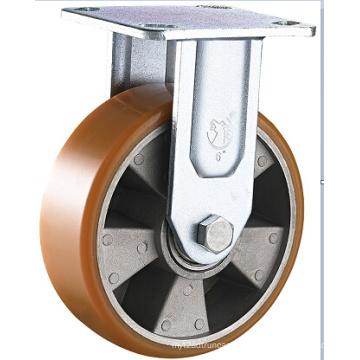 Heavy Duty PU on Aluminium Swivel Caster Wheel