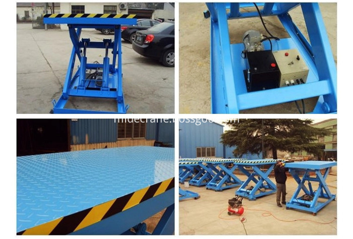 Stationery Hydraulic Lifter