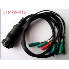 Lt14pin-Kts Adaptador Cable Cables de herramienta de diagnóstico Auto accesorio