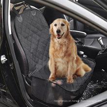 Tampa de assento dianteira do animal de estimação para carros - revestimento protetor preto, Waterproof & Nonslip