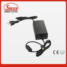 12V2a 24W Power Supply Adapter Desktop com gancho de instalação