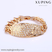 71996 Xuping Gold plated bracelet with small diamond, Fashion Bracelet for women