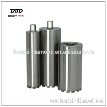 Reinforced concrete diamond core bits laser welded