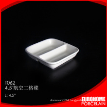 chaozhou factory wholesale restaurant hotel bone china sauce plate