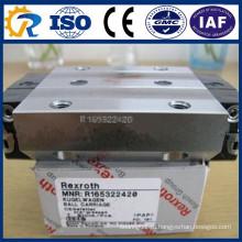 Блок Runner CNC частей Rexroth R165322420 Линейный блок направляющих Rails