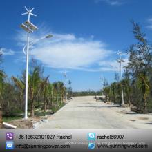 Viento de turbina Horizontal 400W 12V, viento Solar sistema de monitoreo