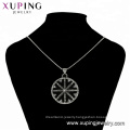33533 xuping  Newest design  fashion Stainless Steel jewelry black gun color cool   pendant