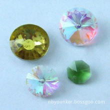 Jewelry Beads, Available in Various Colors, Made of Glass and Crystal, Excellent Workmanship