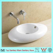 High Quality Bathroom Ceramic Counter Top Wash Basin