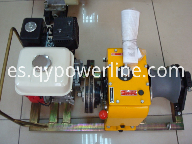 Gasoline Wire Rope Winch
