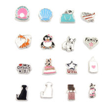 Fashion Jewelry Mini Design Alloy Locket Floating Charms