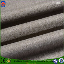 Resistant Blackout Polyester Linen Fabric for Curtain Use From Home Textile Factory