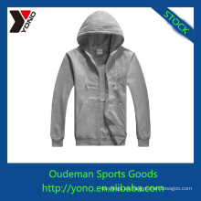 Sudaderas con capucha personalizadas de alta calidad, sudaderas con cremallera con estilo con diferentes colores