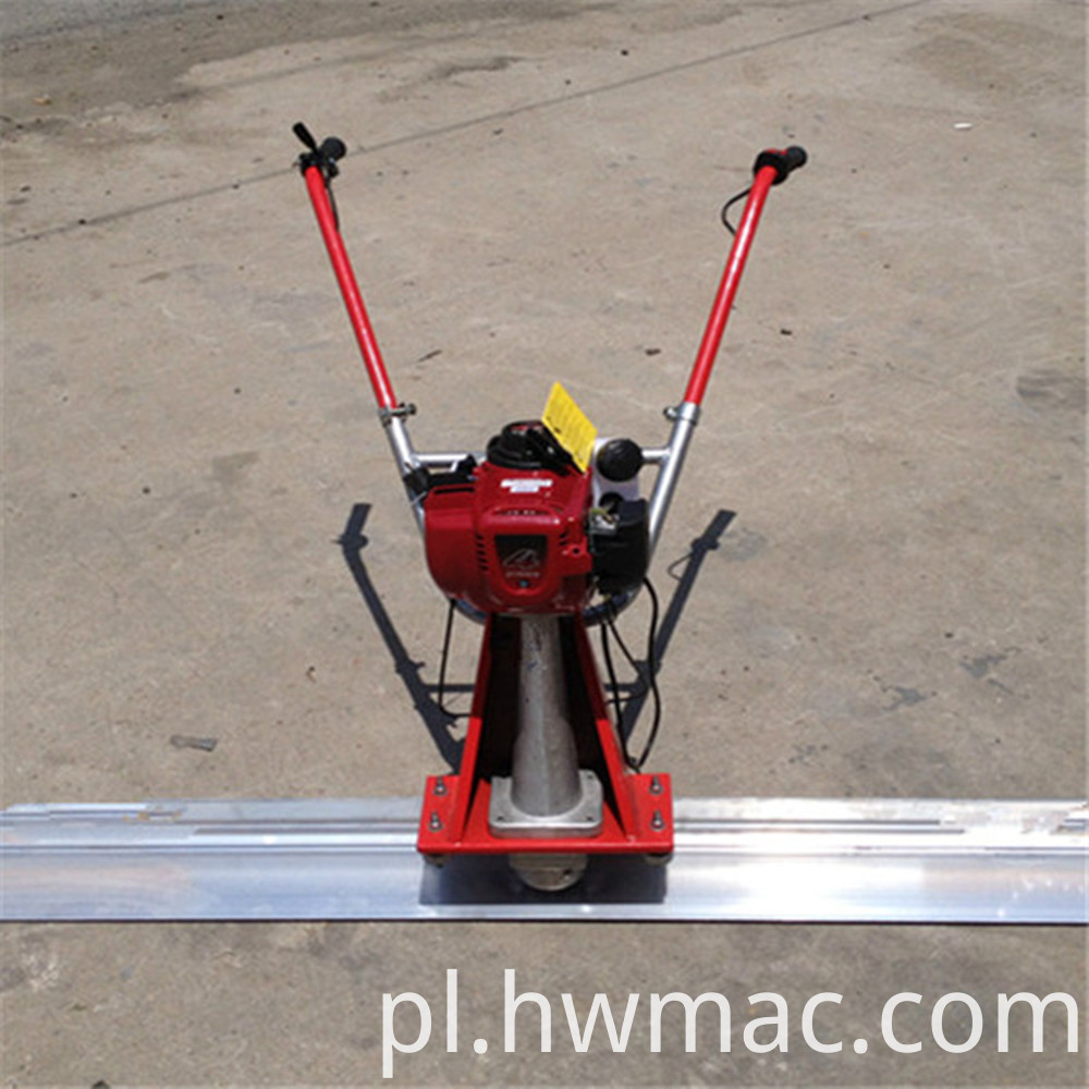 Concrete vibratory screed