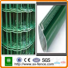 Pvc steel wire holland mesh