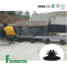 Adjustable Plastic Pedestal for WPC Decking