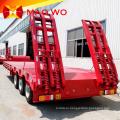 Gooseneck Lowboy Trailer 50 тонн 100 тонн служебный прицеп