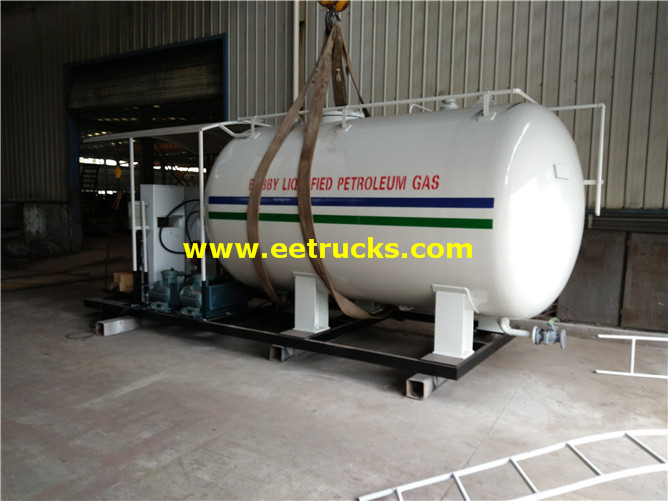 Cooking Gas Skid Plants