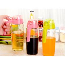 Бутылки уксуса высокого качества Соевый соус Стеклянная бутылка Кухонная масляная бутылка