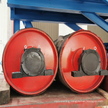 Conveyor Belt Steel Ceramic Non-Drive/Head/Bend/Take up/Snub/Tail Rubber Lagging Drum Pulley  for Belt Width 2200 mm