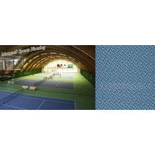 Plancher de sports de PVC pour des secteurs de tennis / sports d'intérieur
