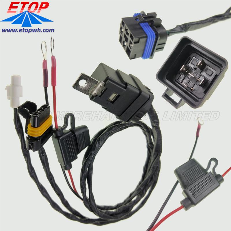 fuse holder cabling