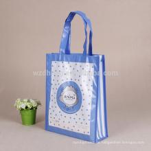 Heißer Verkauf kundengebundener bunter Eco freundliche lamellierte Tote-nicht gesponnene Geschenk-Einkaufstasche für Förderung, Supermarkt