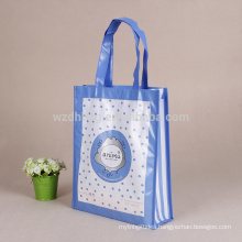 Hot Selling Customized Colorful Eco Friendly Laminated Tote Non Woven Gift Shopping Bag For Promotion, Supermarket