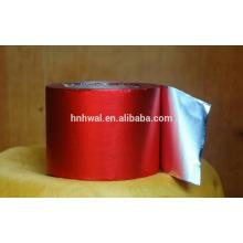 Papel de folha laminada de alumínio revestido de cor para embalagem de chocolate
