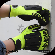 SRSAFETY защита от воздействия перчаток TPR перчатка волшебная пряжка