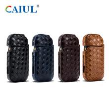 Luxury IQOS E-Cigarette PU Woven Case