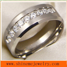 Shineme Jewelry High Quality Body Jewelry Titanium Ring (TR1851)