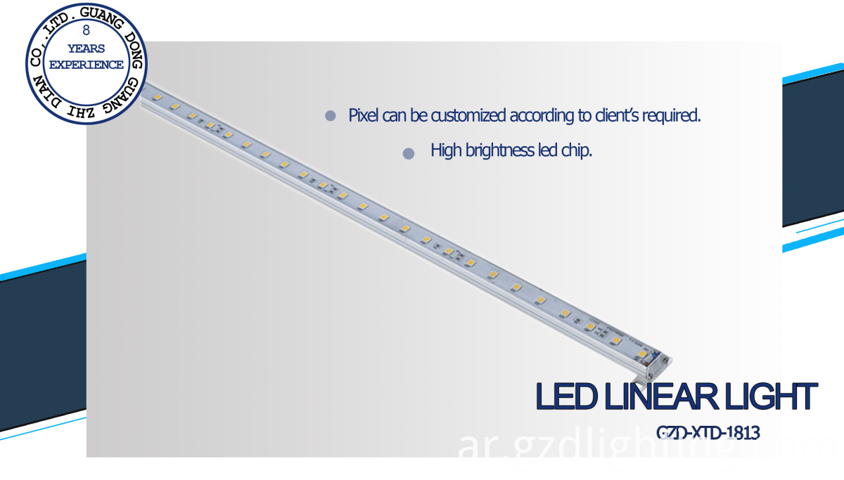 led outdoor linear light