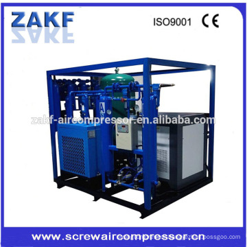 3.2m3/min Industrial air cooling systems 22kw screw air compressor