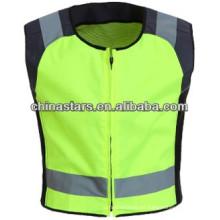 Diseño aerodinámico chaleco deportivo reflectante, reflectores en hombro y cintura