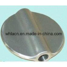 Válvula de mariposa de acero inoxidable de fundición de precisión (fundición de cera perdida)