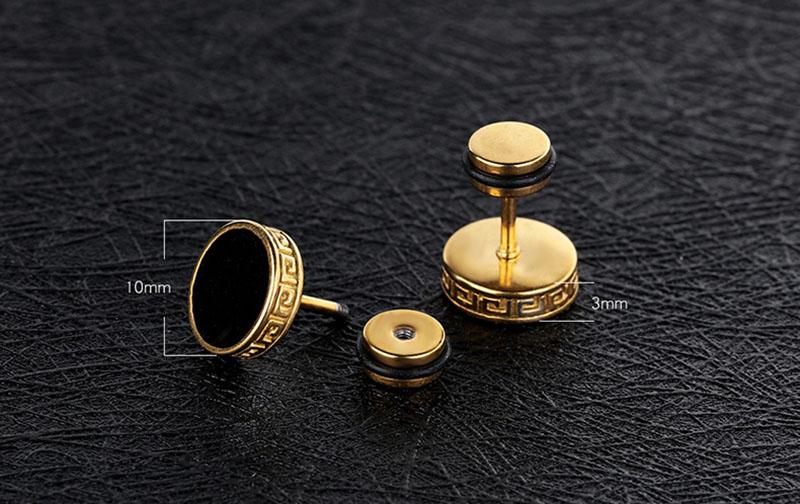Antique Stud Earrings