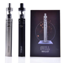 Original Ovell Qvod LL kit with Battery 2200mah with LL Tank 3.5ML ovell Starter Kit E-cigarette Kits PK Smok kanger kit DHL FRE