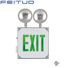 Sortie de signe, éclairage de secours, sortie de secours signe, signe de sortie de LED