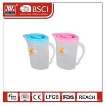 plastic water kettle 2L w/printing